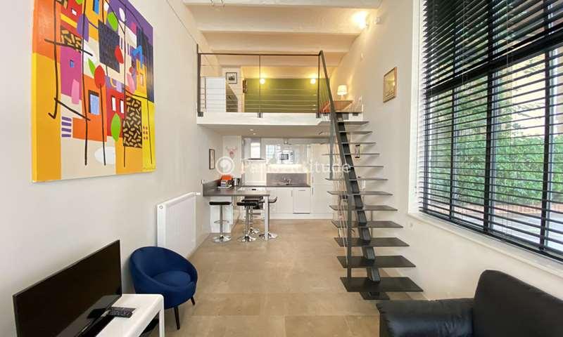 Location Loft 1 Chambre 38m² rue de Turenne, 3 Paris