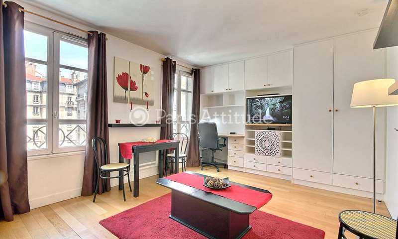 Rent Apartment Studio 28m² rue Daguerre, 75014 Paris