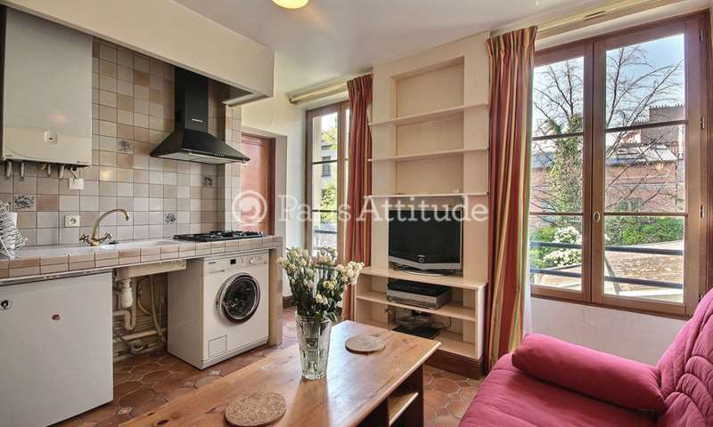Rent Apartment 1 Bedroom 25m² Villa de l Ermitage, 20 Paris