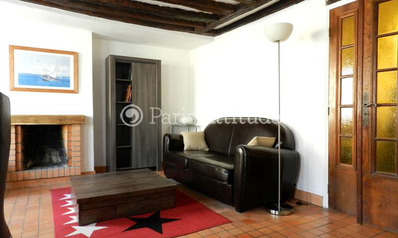 Rent Duplex 1 Bedroom 40m² rue Boutebrie, 75005 Paris