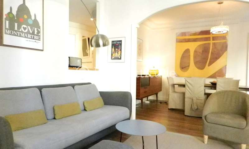 Location Appartement 2 Chambres 66m² rue Nobel, 75018 Paris