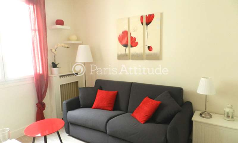 Rent Apartment Studio 18m² rue Duranton, 15 Paris