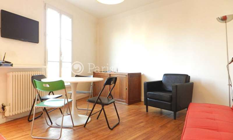 Rent Apartment 1 Bedroom 32m² rue de la Duee, 20 Paris