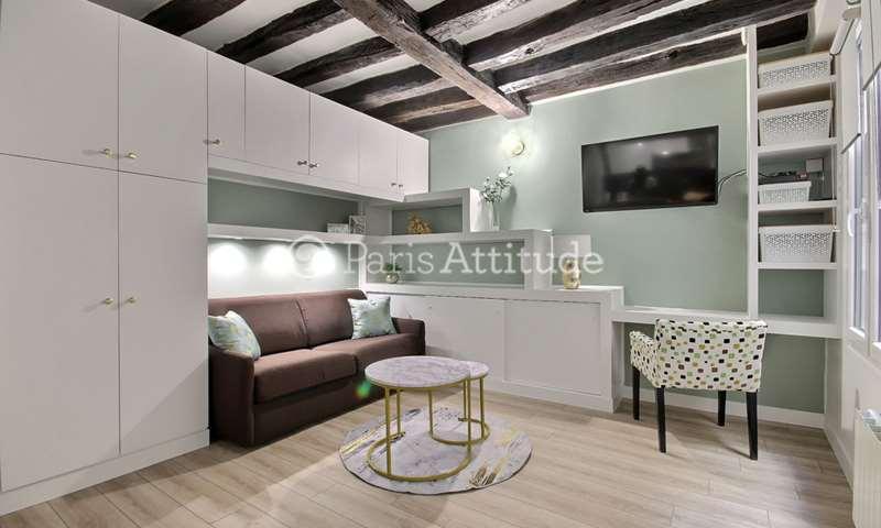Rent Apartment Studio 22m² rue Montmartre, 2 Paris