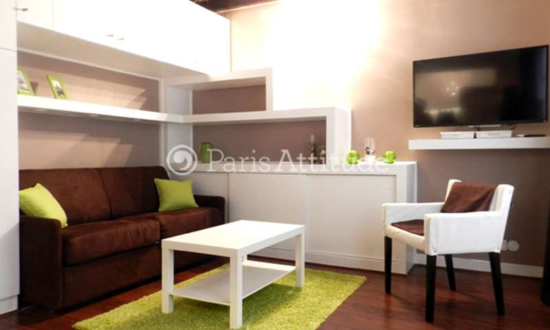 Rent Apartment Studio 22m² rue Montmartre, 75002 Paris