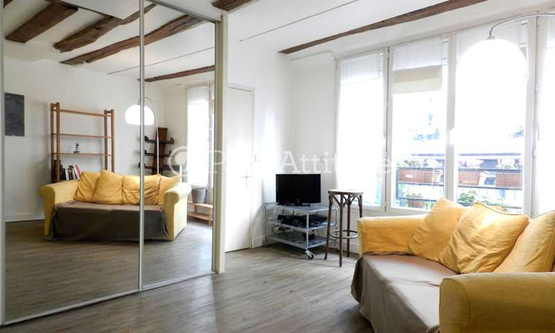 Location Appartement 1 Chambre 32m² rue Debelleyme, 3 Paris