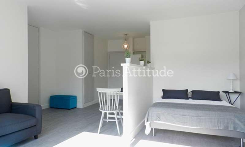 Rent Apartment Alcove Studio 35m² rue Lecourbe, 15 Paris