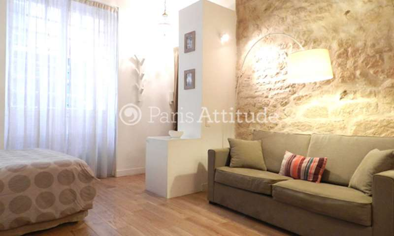 Rent Apartment Studio 28m² rue des Arquebusiers, 75003 Paris