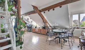 Rent Apartment 3 Bedrooms 90m² rue de la Lune, 2 Paris