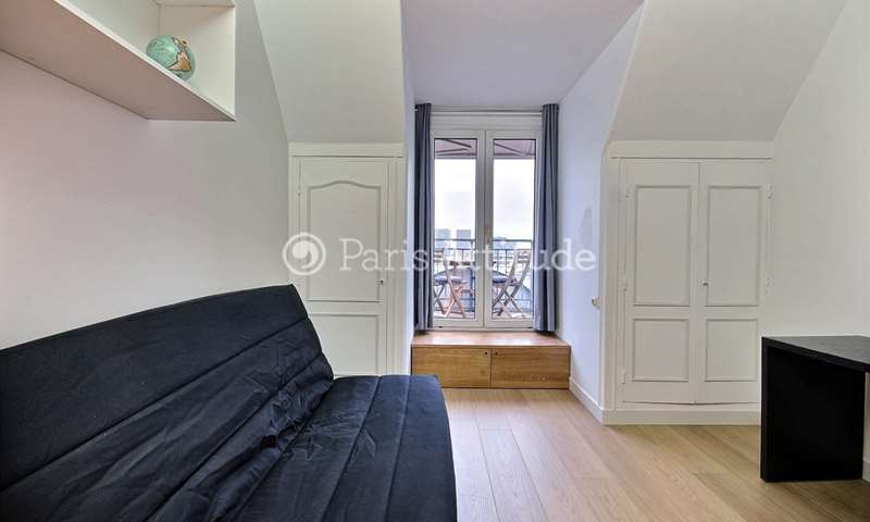 Rent Apartment Studio 19m² avenue Mozart, 16 Paris