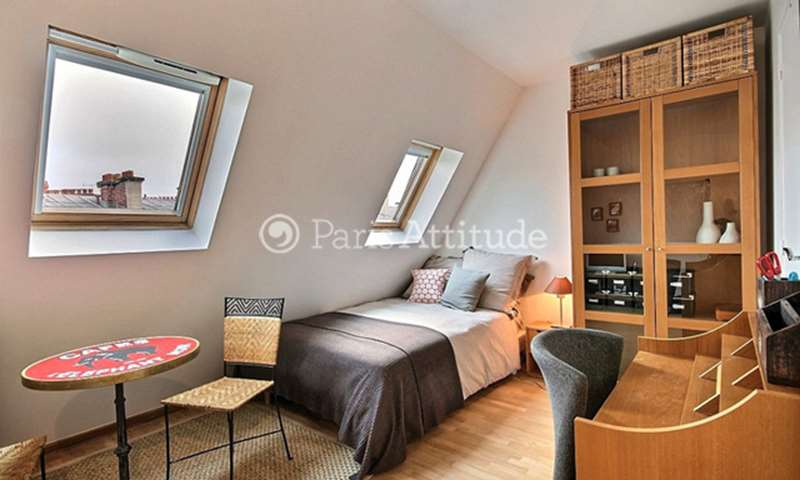 Rent Apartment Studio 15m² rue Gounod, 17 Paris