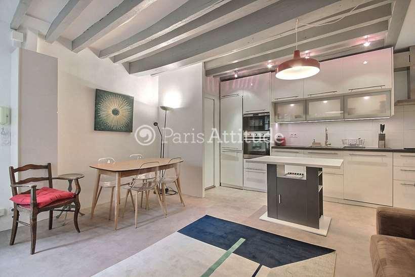 Louer Appartement meublé 1 Chambre 40m² rue du Temple, 75003 Paris
