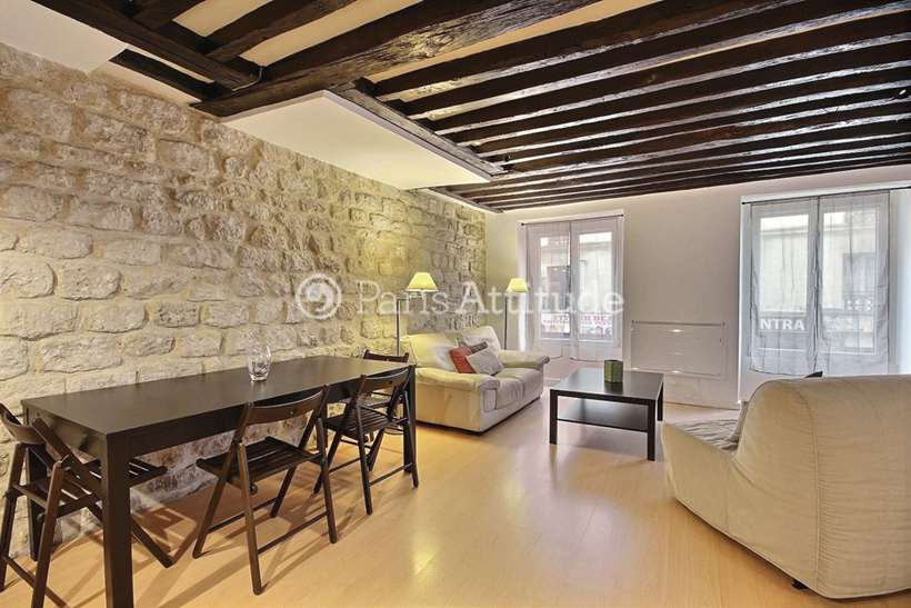 Rent furnished Apartment 1 Bedroom 72m² rue du Chateau D Eau, 75010 Paris