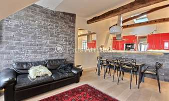 Rent Apartment 2 Bedrooms 70m² boulevard de Sebastopol, 1 Paris