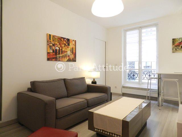 Louer Appartement meublé 1 Chambre 30m² rue Letort, 75018 Paris