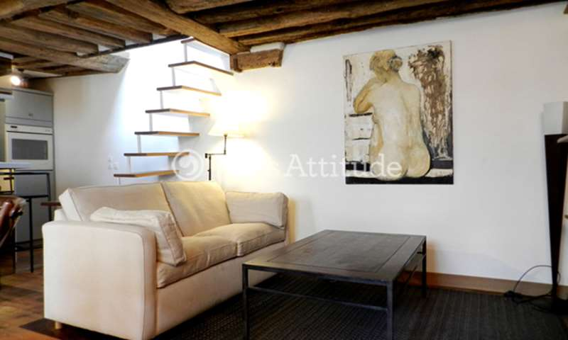 Rent Apartment 2 Bedroom 70m² rue Saint Paul, 75004 Paris