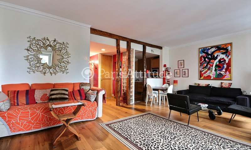Rent Apartment 2 Bedrooms 90m² rue de la Tour, 16 Paris