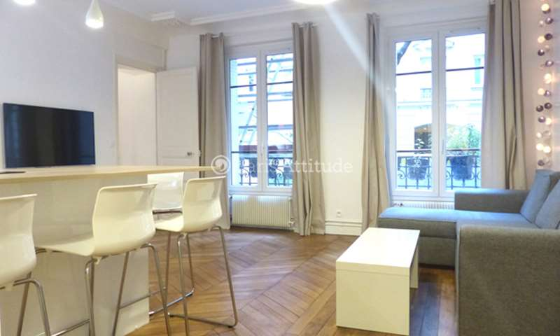 Rent Apartment 1 Bedroom 49m² rue des Moines, 75017 Paris