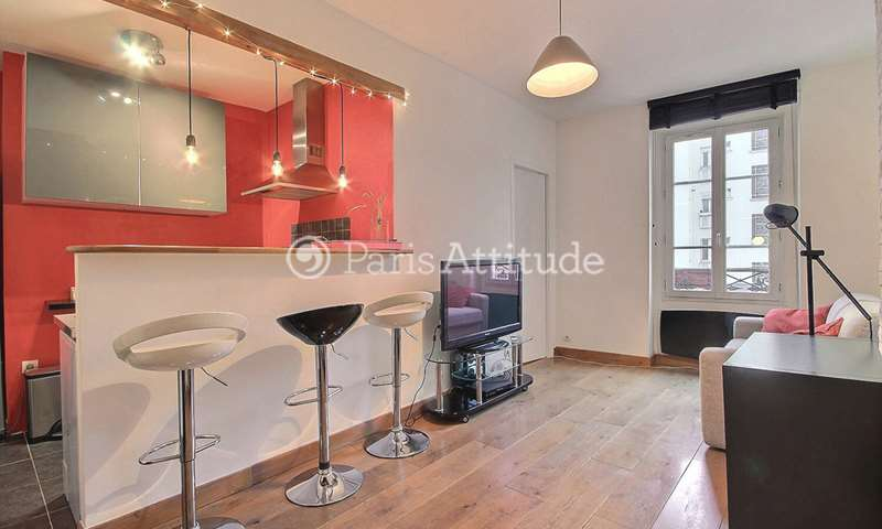 Rent Apartment 1 Bedroom 35m² rue Marius Aufan, 92300 Levallois Perret