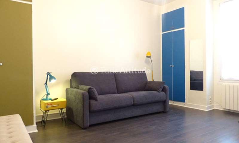 Rent Apartment Studio 25m² rue Caulaincourt, 75018 Paris