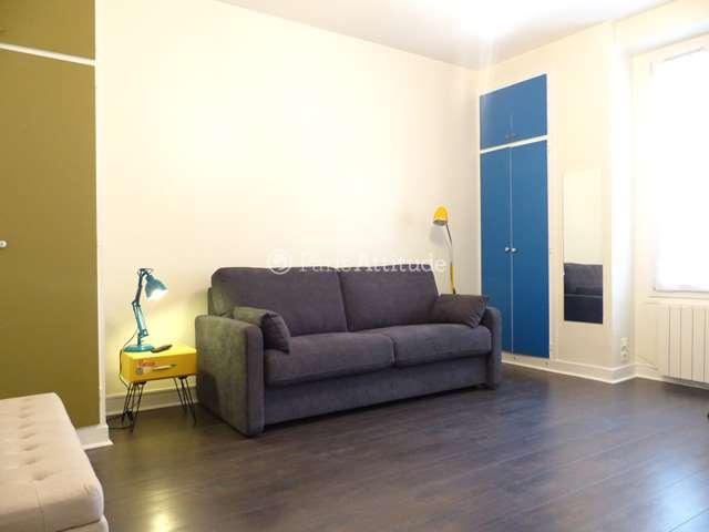 Louer Appartement meublé Studio 25m² rue Caulaincourt, 75018 Paris