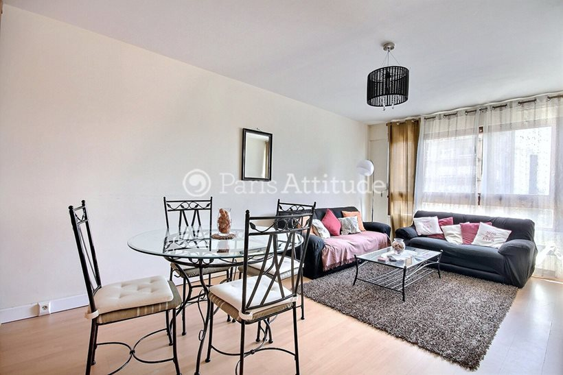 Rent furnished Apartment 2 Bedrooms 70m² rue du Javelot, 75013 Paris