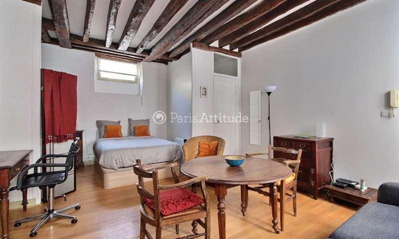Rent Apartment Studio 30m² rue du Faubourg Saint Antoine, 75011 Paris
