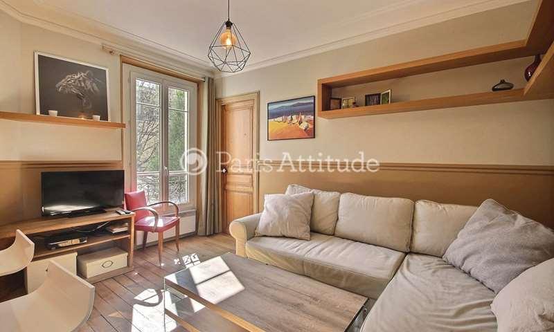 Rent Apartment 1 Bedroom 40m² rue des Cloys, 75018 Paris