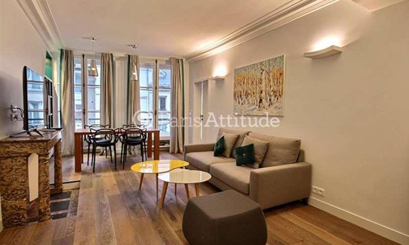 Rent Apartment 3 Bedrooms 80m² rue Saint Honore, 1 Paris
