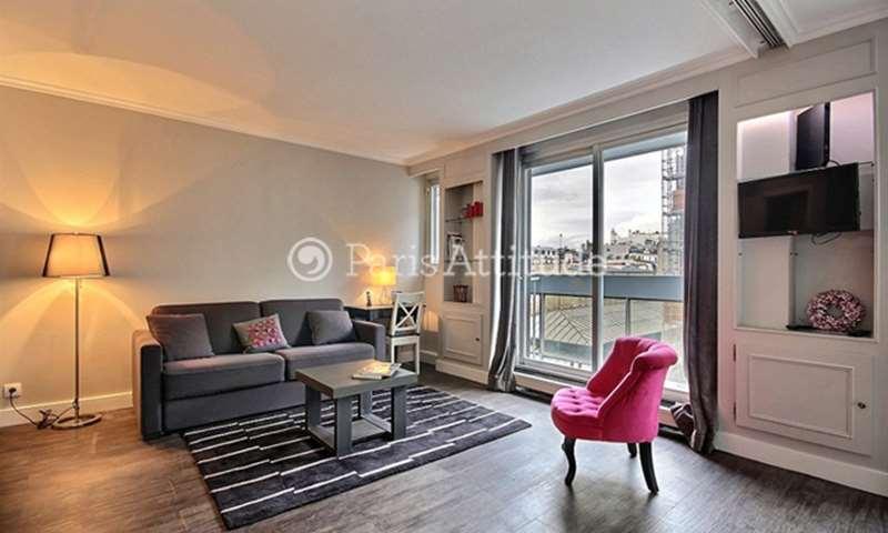 Rent Apartment Alcove Studio 49m² rue des Sablons, 16 Paris