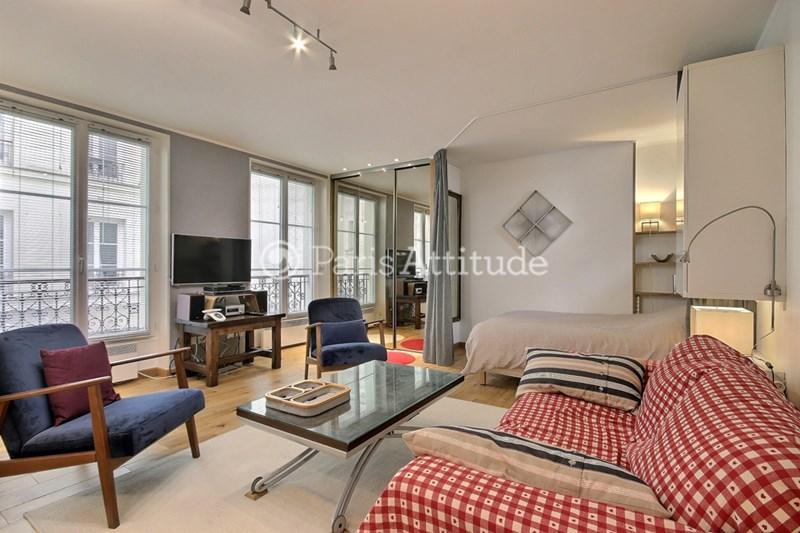 Rent Apartment Alcove Studio 42m² rue de Clignancourt, 75018 Paris