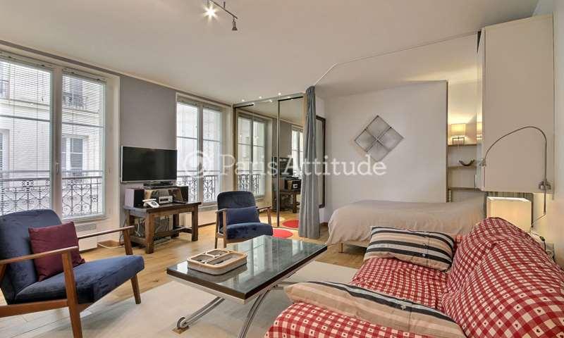 Rent Apartment Alcove Studio 42m² rue de Clignancourt, 18 Paris