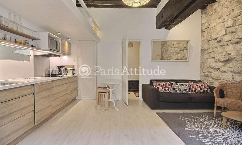 Rent Apartment 1 Bedroom 33m² rue du Cardinal Lemoine, 5 Paris