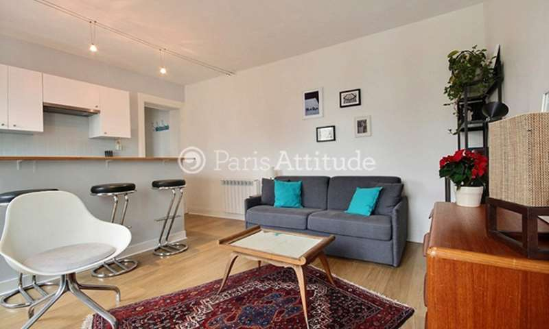 Rent Apartment 1 Bedroom 37m² rue Alain Chartier, 75015 Paris