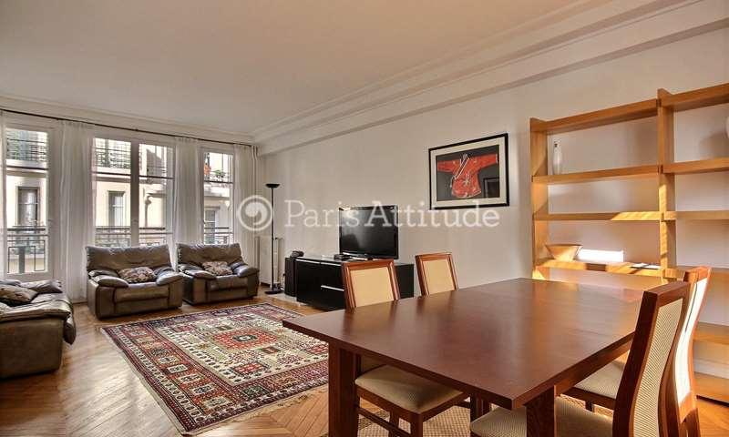 Rent Apartment 2 Bedrooms 92m² rue Paul Dupuy, 16 Paris
