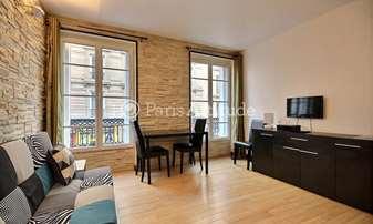 Rent Apartment 1 Bedroom 31m² rue Poulet, 18 Paris