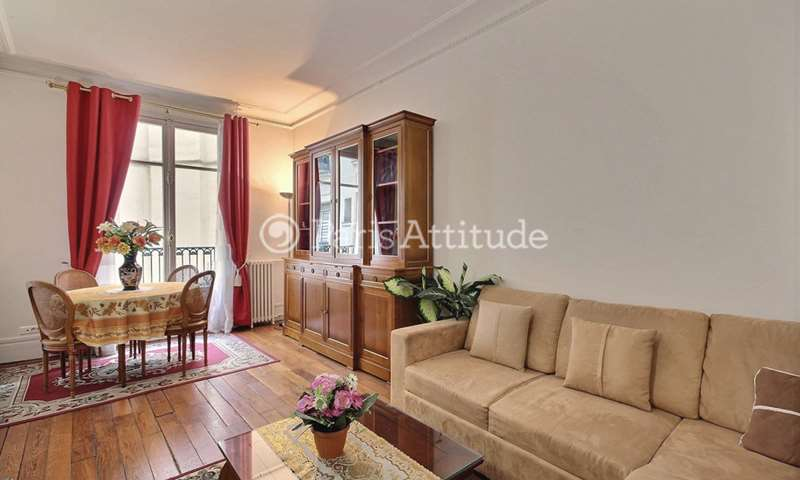 Rent Apartment 1 Bedroom 61m² rue Arsene Houssaye, 75008 Paris