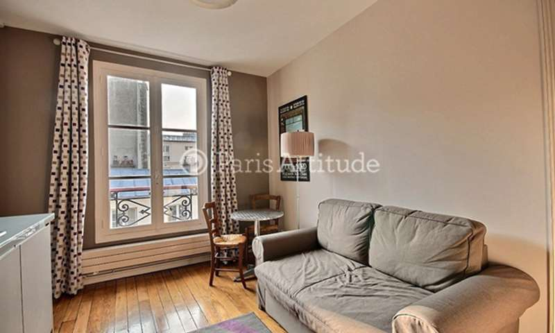 Rent Apartment 1 Bedroom 25m² rue de Rochechouart, 9 Paris