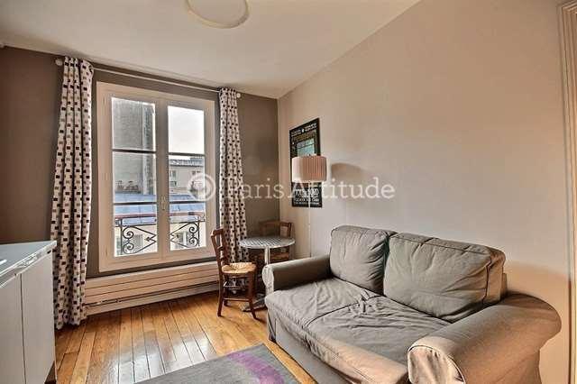Rent furnished Apartment 1 Bedroom 25m² rue de Rochechouart, 75009 Paris