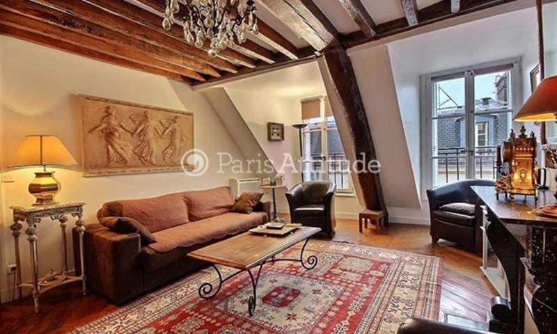Rent Duplex 2 Bedroom 76m² rue Chauveau Lagarde, 75008 Paris