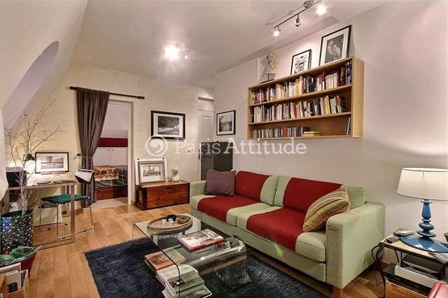 Rent furnished Apartment 1 Bedroom 35m² rue Bonaparte, 75006 Paris