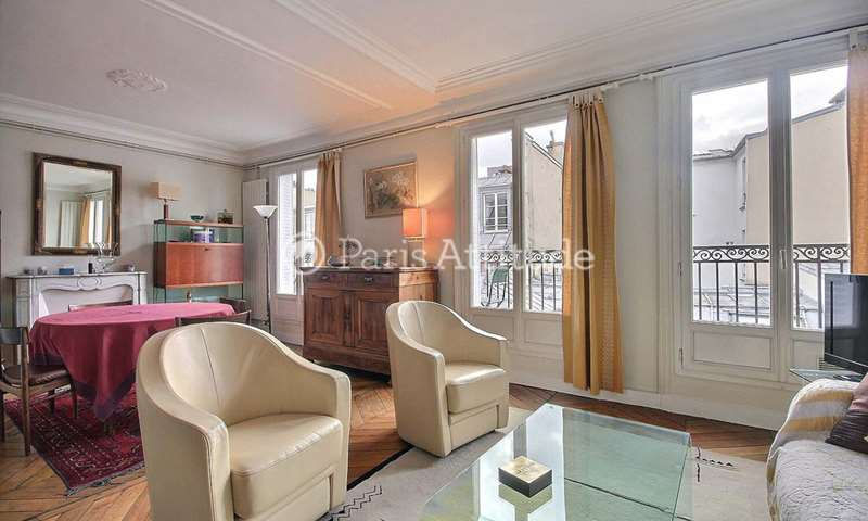 Rent Apartment 1 Bedroom 53m² rue des Halles, 1 Paris