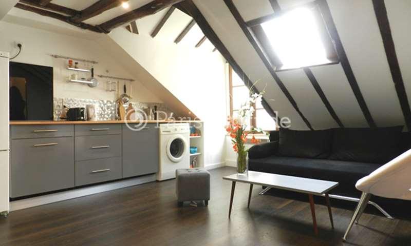 Rent Apartment Studio 18m² rue Rodier, 75009 Paris