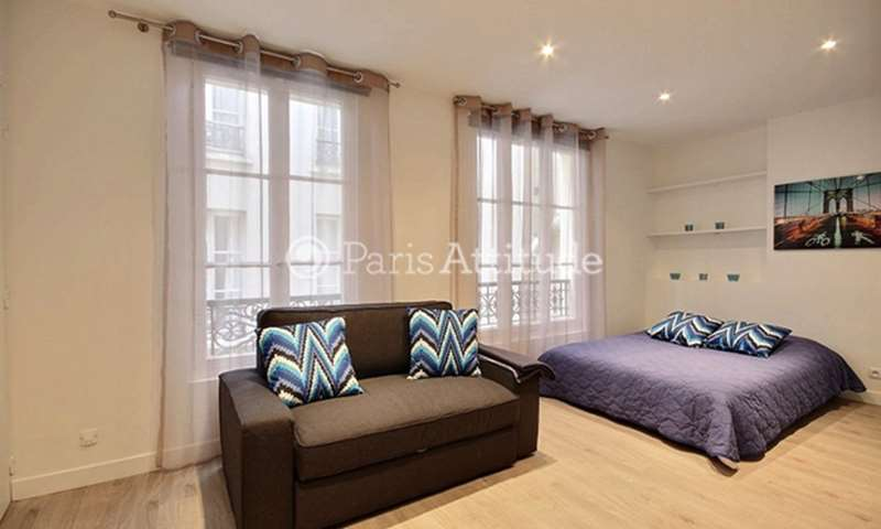 Rent Apartment Studio 26m² rue Valadon, 75007 Paris