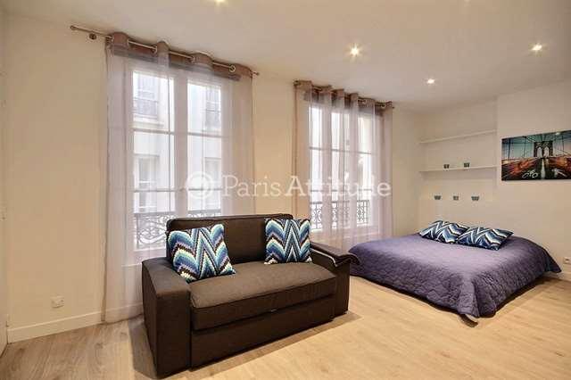 Rent furnished Apartment Studio 26m² rue Valadon, 75007 Paris