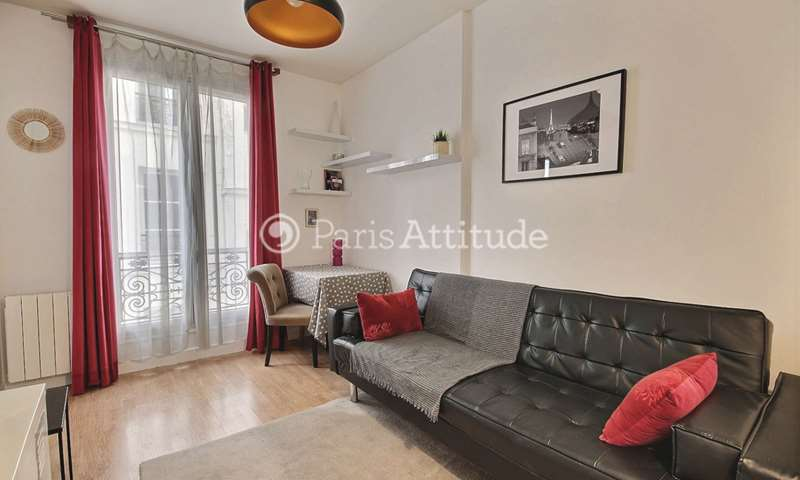Rent Apartment 1 Bedroom 32m² rue Keller, 11 Paris