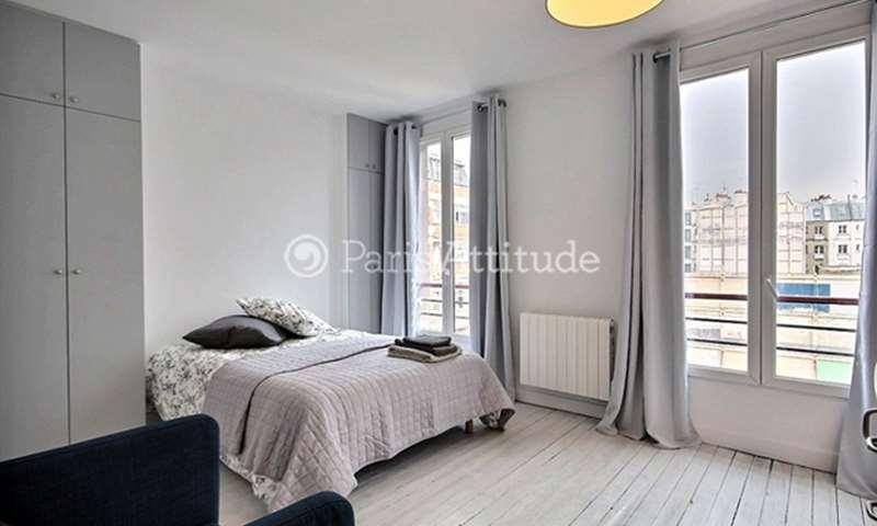 Rent Apartment Studio 25m² rue Baudelique, 18 Paris