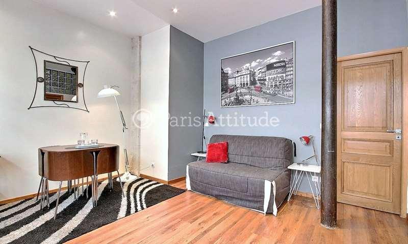 Location Appartement Studio 30m² rue Marie et Louise, 10 Paris