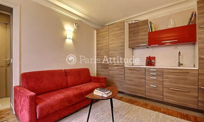 Location Appartement 1 Chambre 34m² rue Eugene Süe, 75018 Paris