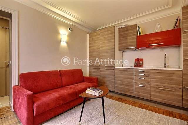 Louer Appartement meublé 1 Chambre 34m² rue Eugene Süe, 75018 Paris